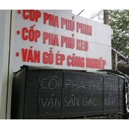Cửa hàng bán và cho thuê ván ép gỗ dán cốp pha phủ phim tại Lào cai